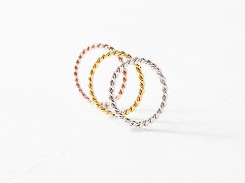 Spasso Ring Set