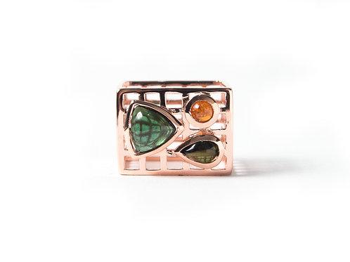 Nido Ring in rose gold