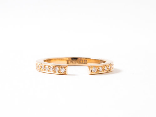 Puzzle Ring in yellow gold