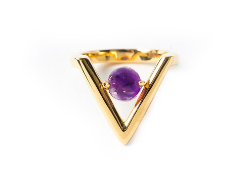 Vitto Ring in yellow gold