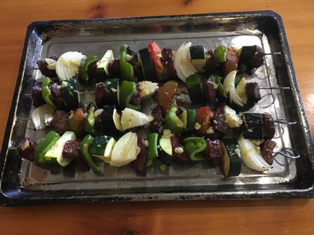 How to Make Steak Kabobs with Garlic Butter
