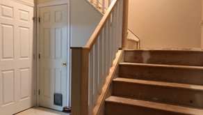 Sayreville NJ - Entryway Stairs Updated!
