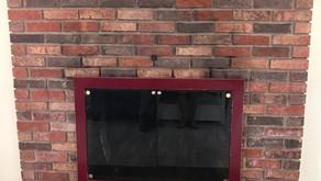 Manahawkin NJ - Brick Fireplace Update