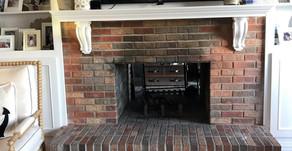 Mantoloking NJ - Fireplace Whitewash