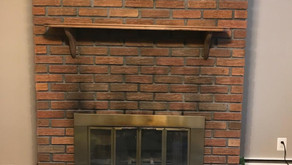 Clark NJ - Fireplace Whitewashed