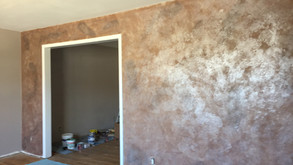 Faux Accent wall in Jackson