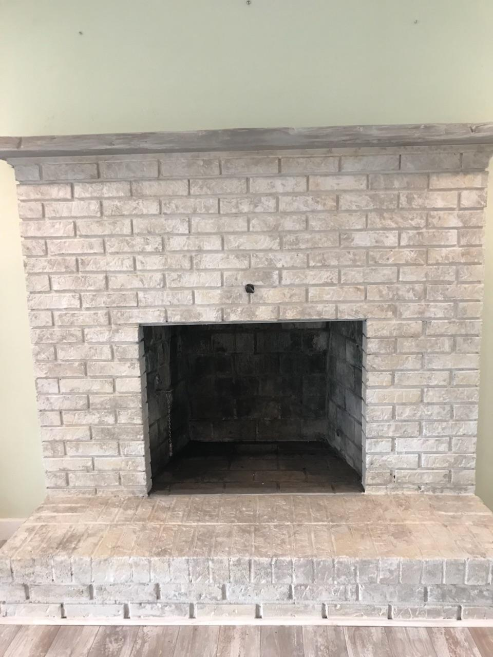 Manahawkin NJ - Brick Fireplace Update