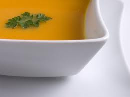 Zesty Carrot-Orange Soup