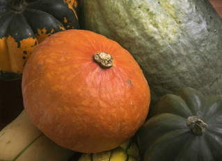 Holiday Winter Squash with Cranberry-Nut Stuffing