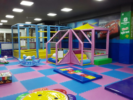 Indoor Playground Installation in Kosovo
