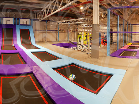 Trampoline Park Installation In Romania