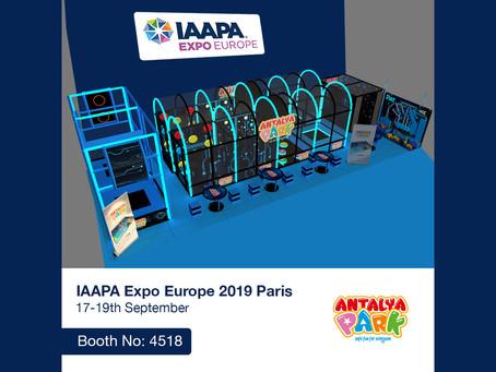 Meet Us At The IAAPA Expo Europe 2019