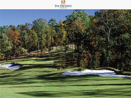 The Preserve at Jordan Lake Golf Club- Golf for 4