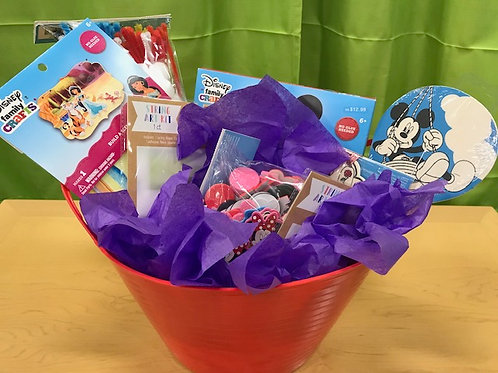 Disney Craft Basket