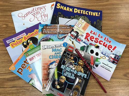 Book collection- K-2 boys