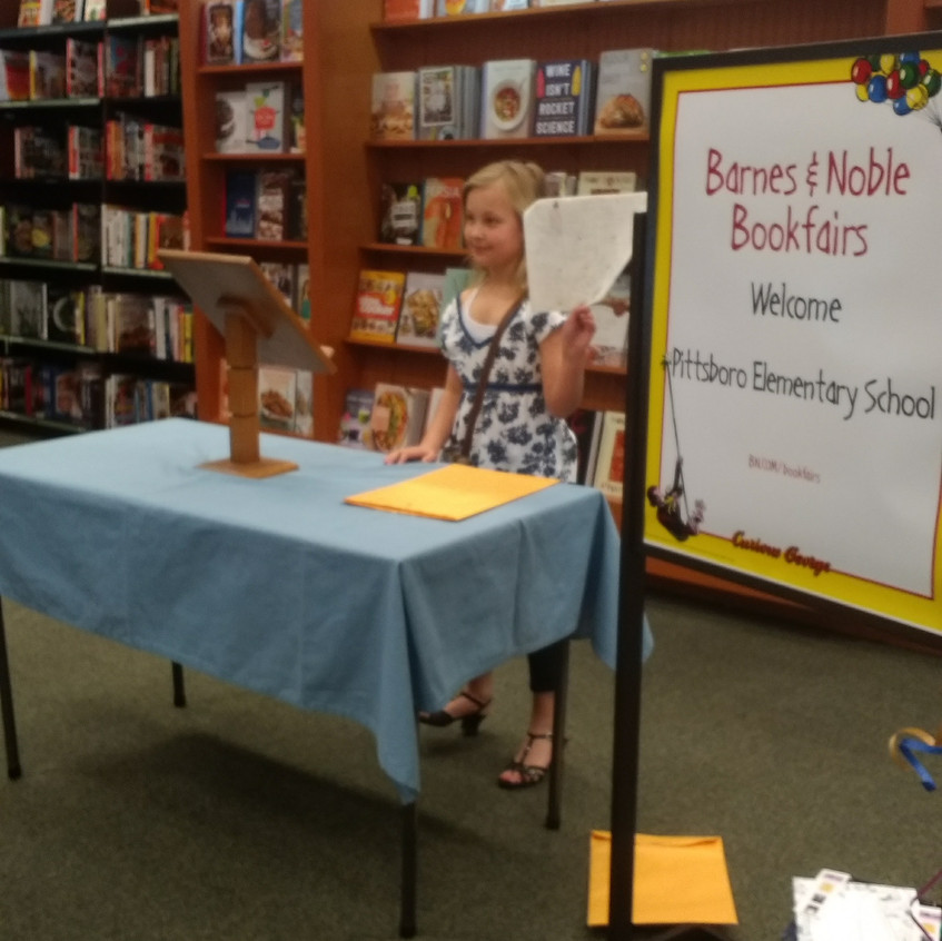 Young Authors at Barnes & Noble