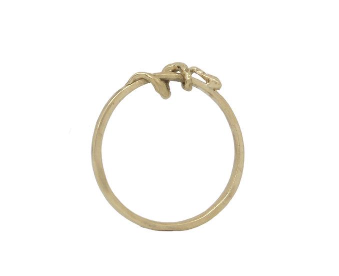 Tiny Snake Ring