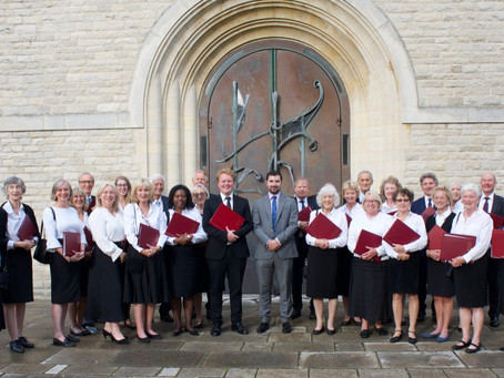 Singing together again – I had to pinch myself to believe it!