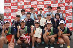 19中日本レガッタ_高校女子4X+表彰式
