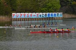 19中日本レガッタ_高校男子4X+レース