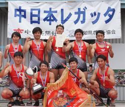 19中日本レガッタ_トヨタ紡織エイト表彰式