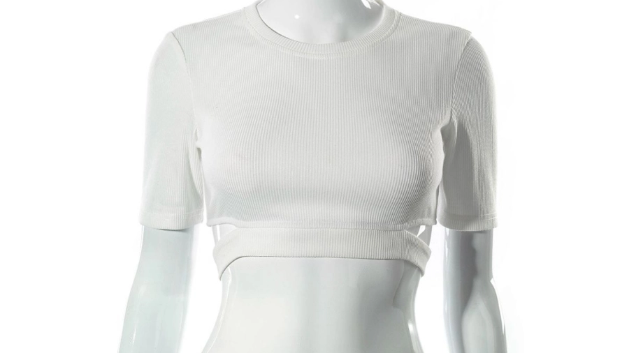 Gotta Have It White Cropped Top