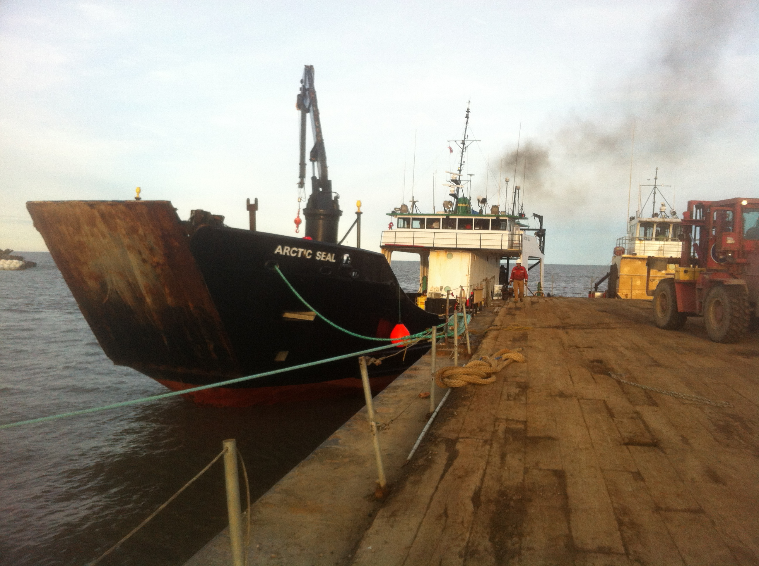 Barge and Landing Craft