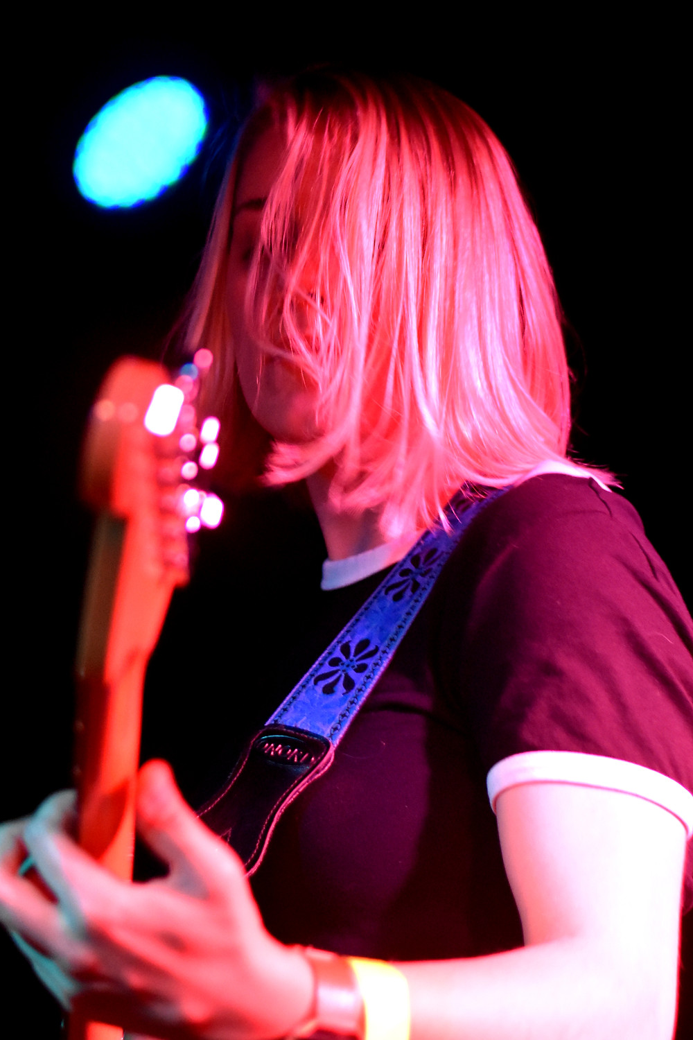 Liz Fisher of The Cordial Sins (photo by Sean O'Connor)
