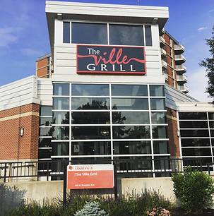 Image of the Ville Grill from outside