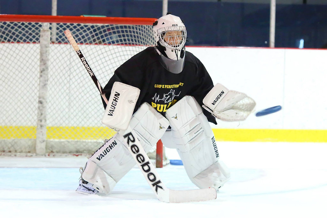 Camp Pulsion Ringette Goalie