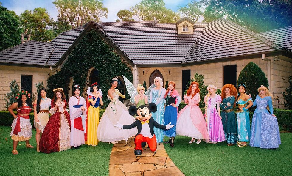 Cast of Princesses