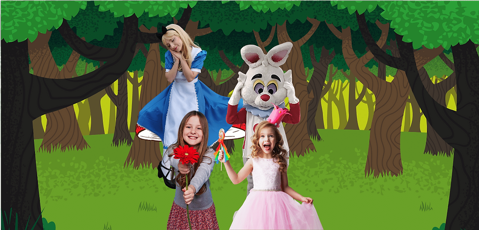 Brisbane Alice in Wonderland Birthday En