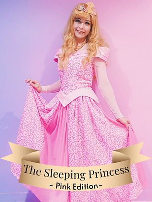 Aurora Sleeping Beauty Pink