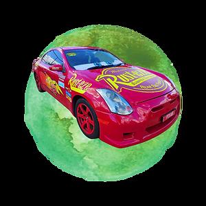 Lightning McQueen Tribute Car