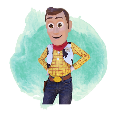 Brisbane Woody Birthday Party Mascot