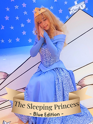 Aurora Sleeping Beauty Blue
