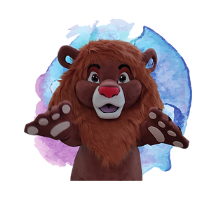 Brisbane Lion King Birthday Party Mascot
