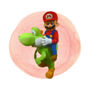 Brisbane Mario & Yoshi Birthday Party Ma