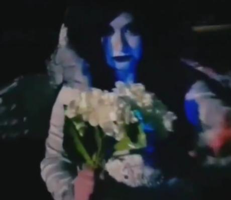 Scary horror bride
