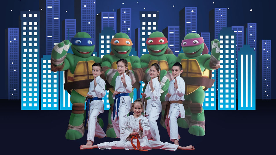 Brisbane Teenage Mutant Ninja Turtles Bi