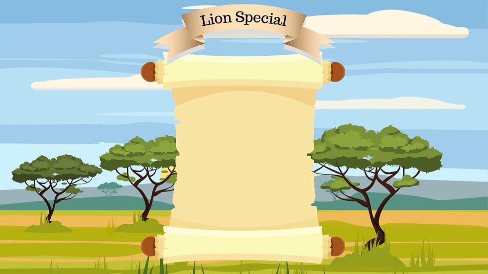 Lion Safari Wild One Themed Birthday Par