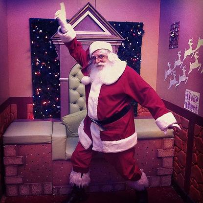 Santa Rod Dancing