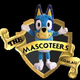 Bluey Birthday Party Mascot