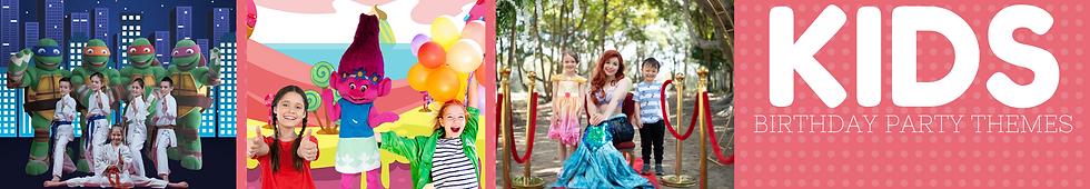 Kids Birthday Party Entertainment Themes
