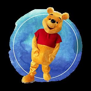 Brisbane Pooh Bear Birthday Party Mascot