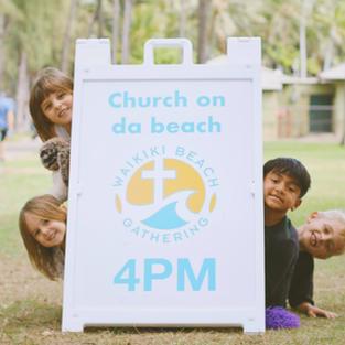 Kids Beach Gathering Team