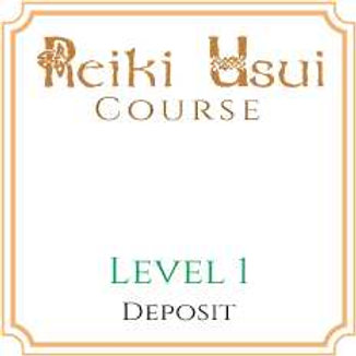 Reiki Level 1 (Deposit Only)