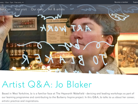 Artist Q&A for The Hepworth Wakefield