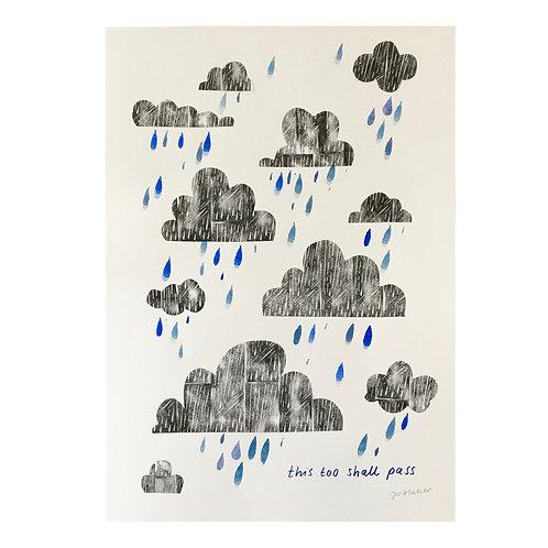 Summer Rain Hand Finished Prints