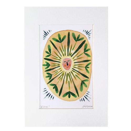 'Bloom' Lumins Print
